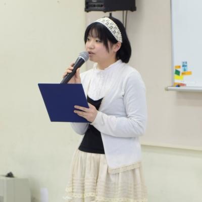 社会福祉科 前田美奈さん