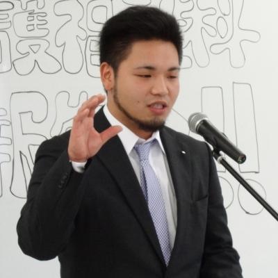 介護福祉科 田端豊晴さん